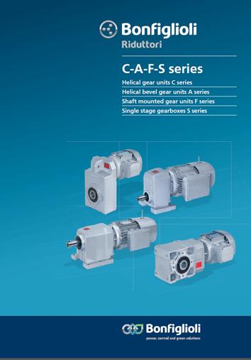 Gearmotors Series A Gearboxes Motors Inverters